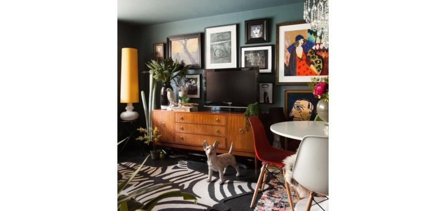 Decora tu salón con un estilo clásico-moderno
