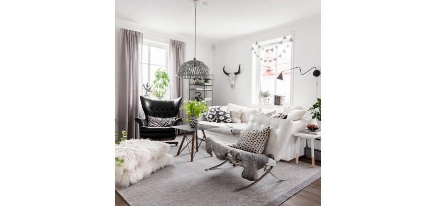 ¿Cómo amueblar una sala de estar pequeña?