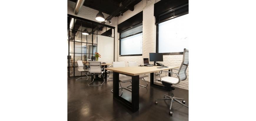 ¿Cómo conseguir un estilo industrial en tu oficina?